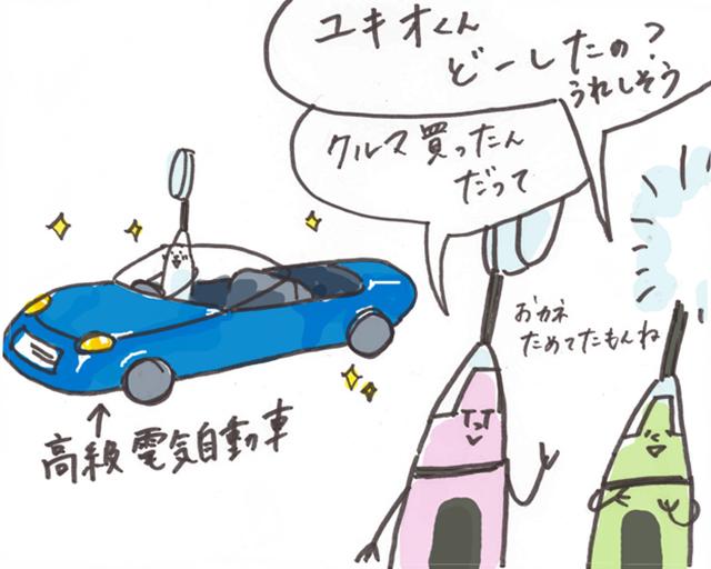 第13話「ユキオ、スーパーカーを買う」